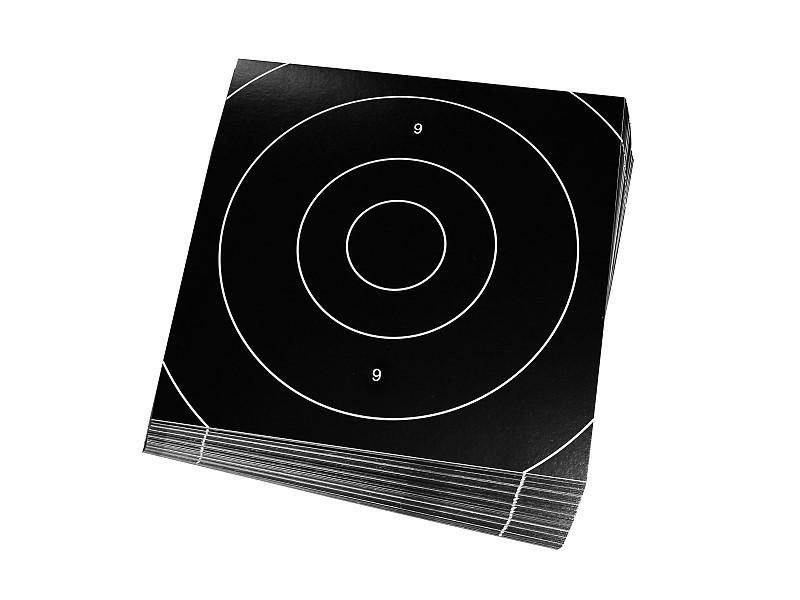 Pack de 50 cibles - 21x21cm