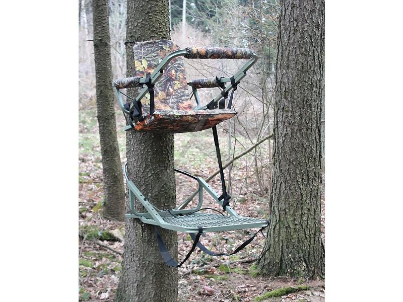 Siège auto-grimpant transportable & chaise d'affût pratique - Affut surélevé pour arbre