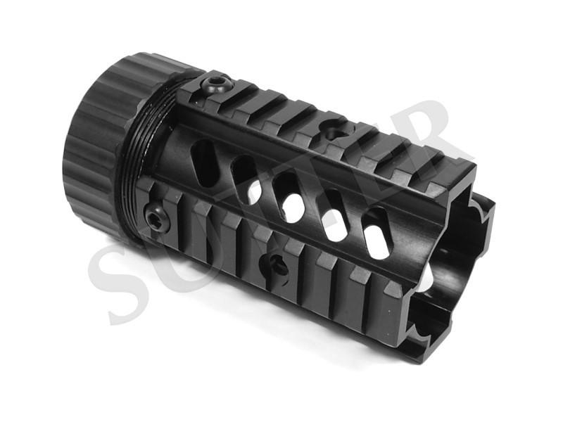 Quad Rail Handguard System 115mm - 4x Rail de 21mm