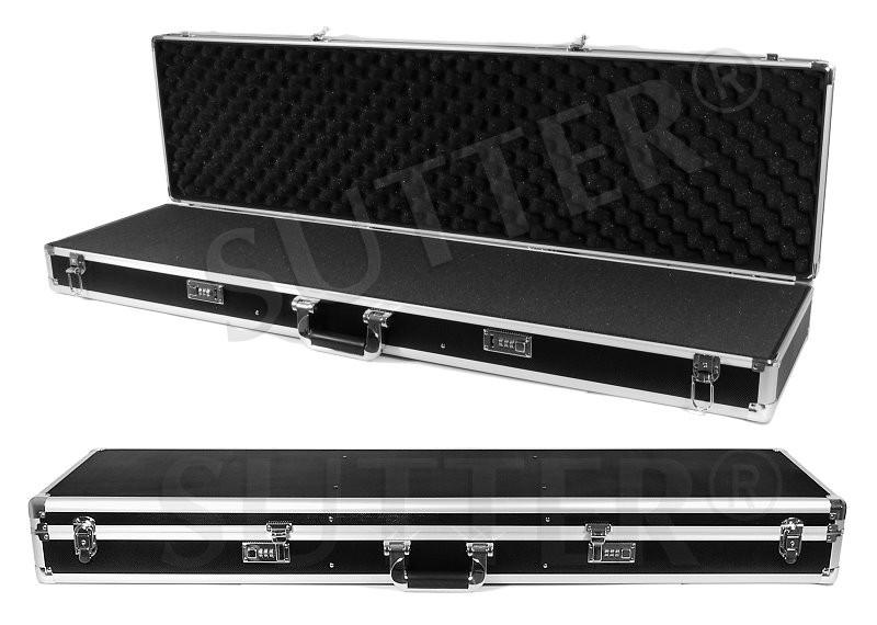 Mallette pour armes en aluminium 120x37x14cm - Maintenant moins chère pour la période de voyage