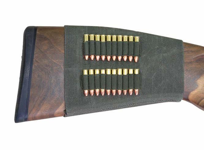 Étui de crosse en caoutchouc élastique - Für 20x cartouches de petit calibre cal. 22 Lfb.