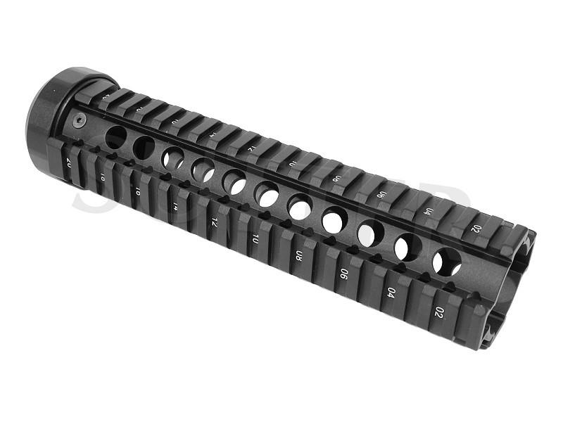 Système de rail Quad Handguard - Rail de profile 230mm - 4x 21mm