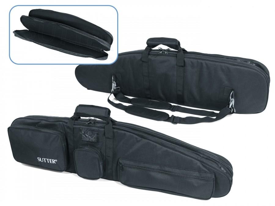 PREMIUM Housse double pour deux armes longues avec lunettes - 125x37cm