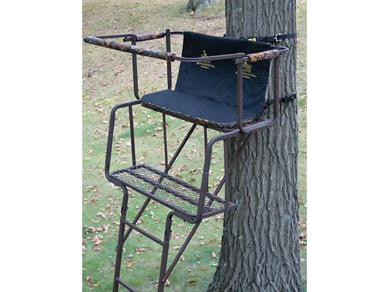 Mirador chasse transportable pour 2 personnes 4,5m - A04 - Échelles d'affût