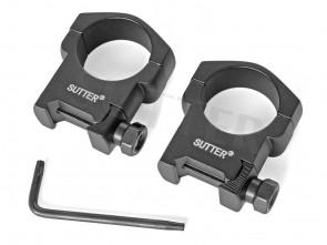 Anneaux de montage d=30mm * Pour les rails 19-22mm Weaver et Picatinny