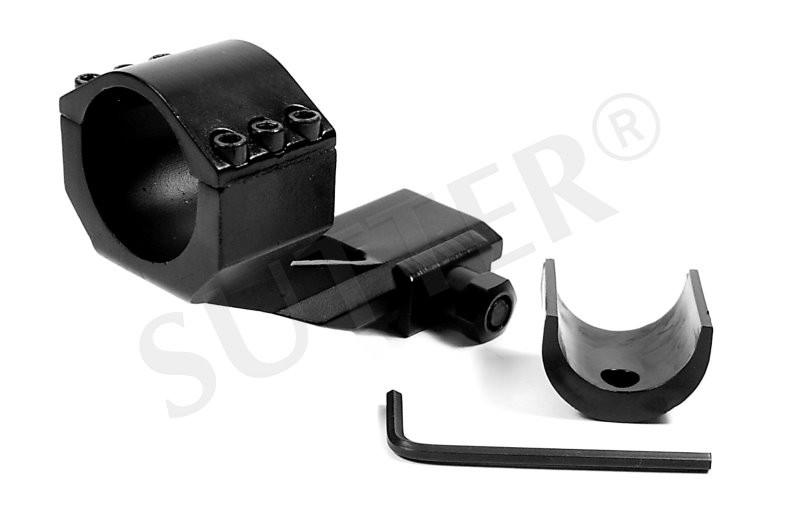 MONTAGE SPECIAL MAGNUM KDM008 pour 19-21mm Weaver- et Picatinny rail