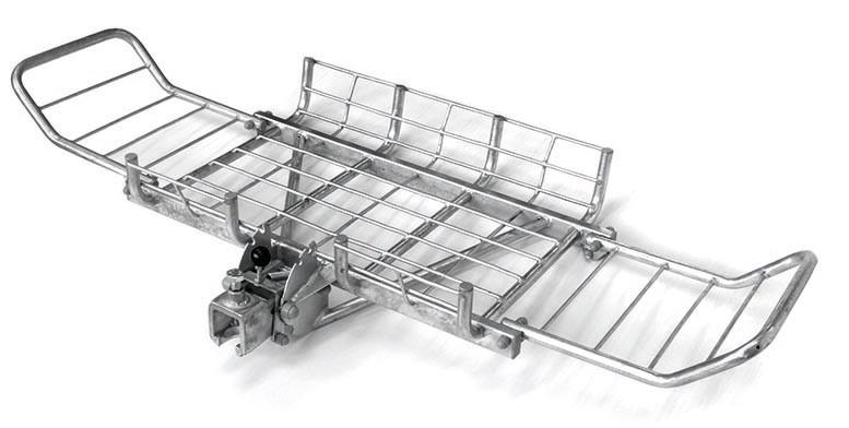 Porte charge à l'arrière du véhicule / Porte gibier doté de mécanisme basculant