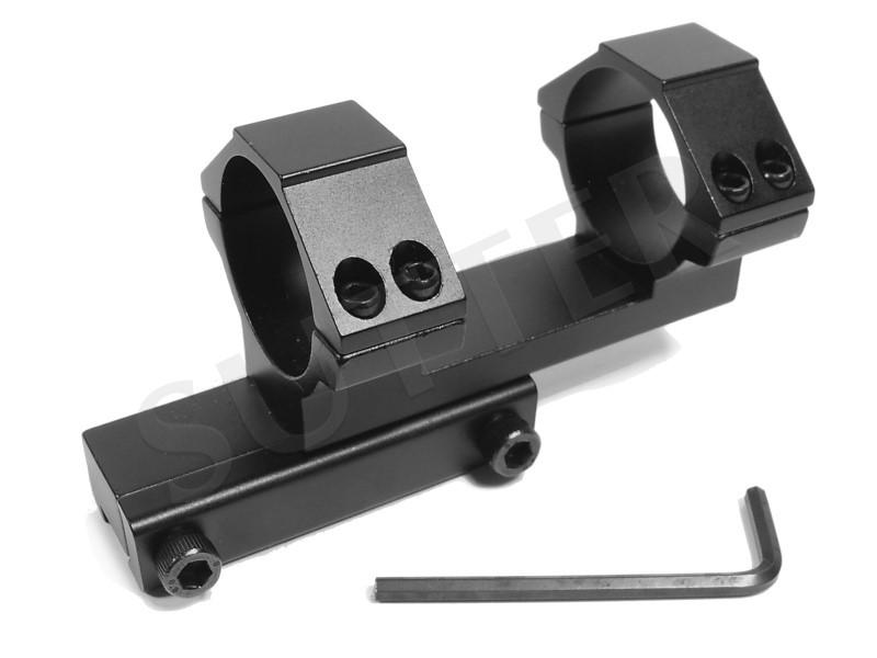 Montage lunette pour fusil coudé d=30mm