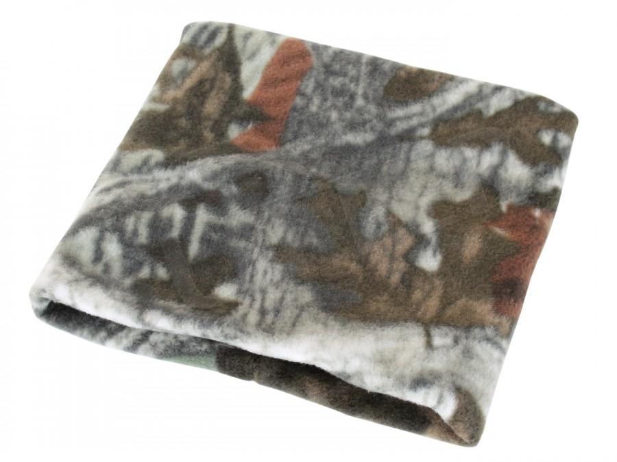 Cache-col en polaire camouflage (camo) - bonnet de chasse & d´extérieur