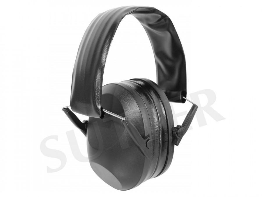 Protection auditive de haute qualité pour chasseurs et tireurs (noire)