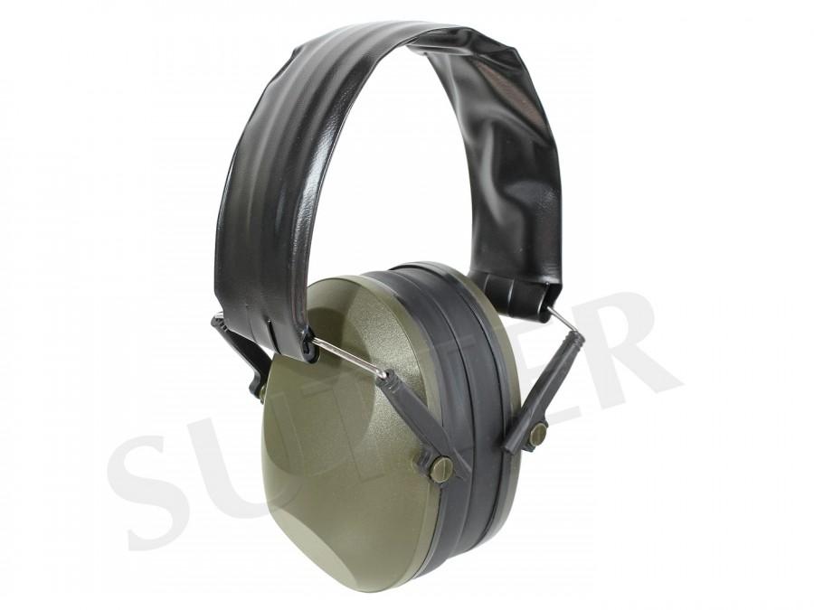 Protection auditive de haute qualité pour chasseurs et tireurs (vert foncé)