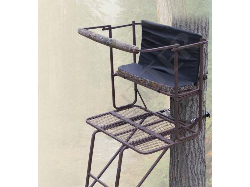 Mirador chasse transportable pour 2 personnes 5,0m - A15 - Échelles d'affût
