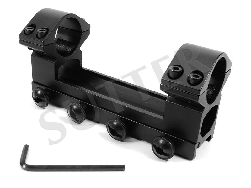 Rail de montage WA 25,4 / 55 / 120 pour 19-21mm Weaver- et Picatinny rail