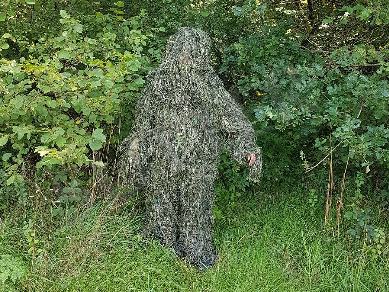 Costume de camouflage Ghillie Suit (camouflage net)