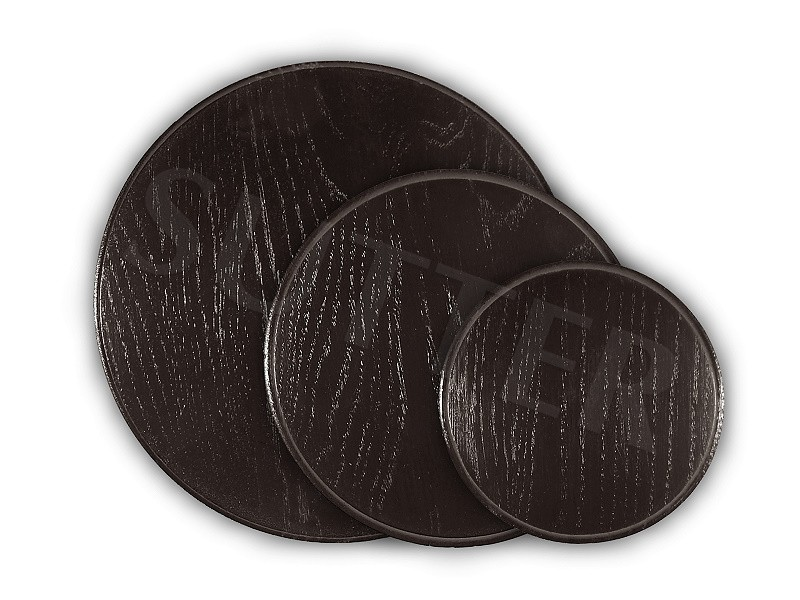 Écusson trophée / Plaque trophée Sanglier VIII (teinté foncé)