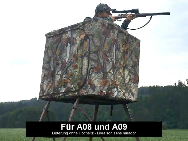 Cache Camouflage - Pour les affûts A07 et A08
