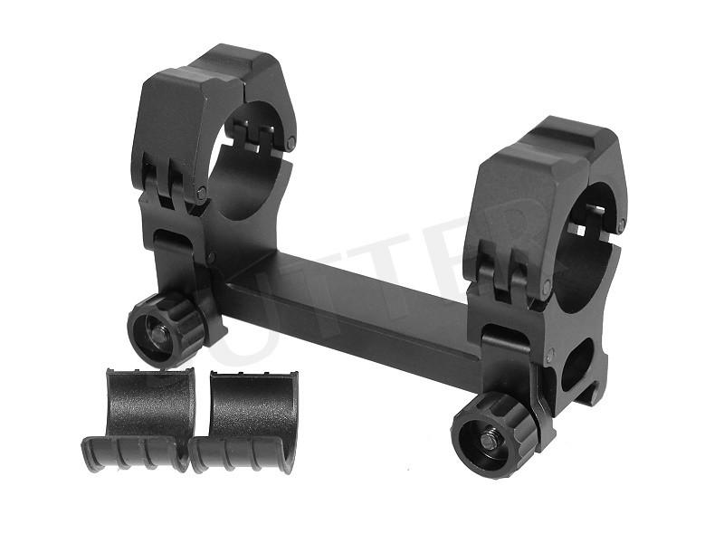 Rail de montage 60 / 110 * pour 19-21mm Weaver- et Picatinny rail * Diamètre 25,4mm & 30mm