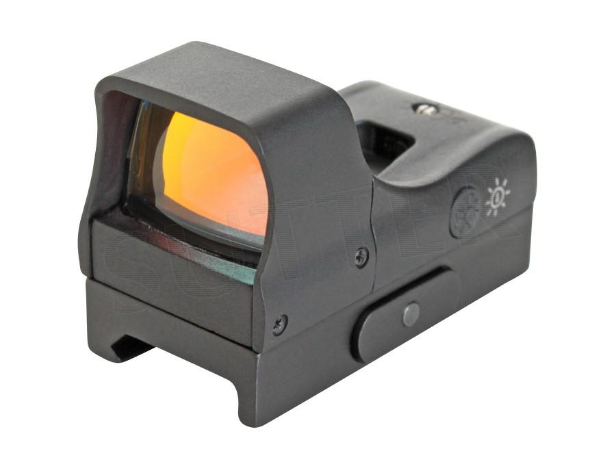Lunette de visée Red Dot 1x22 - Avec deux niveau de luminosité pour Weaver et Picatinny rail